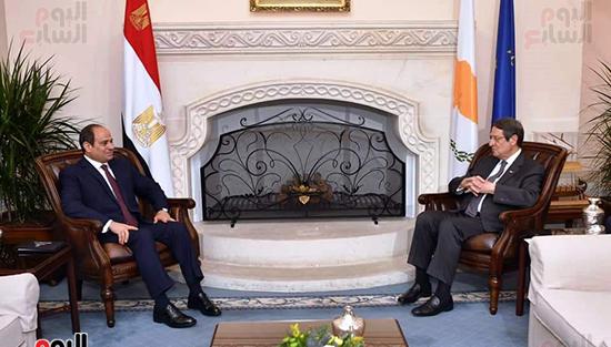 الرئيس السيسى فى قبرص واليونان (15)