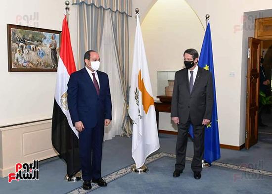 الرئيس السيسى فى قبرص واليونان (12)