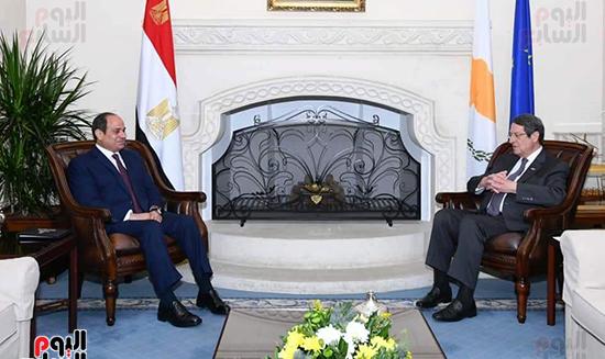الرئيس السيسى فى قبرص واليونان (11)