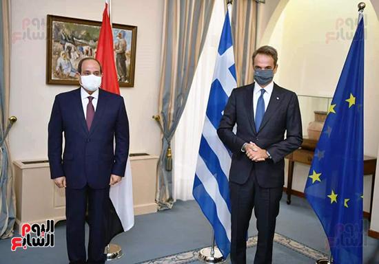الرئيس السيسى فى قبرص واليونان (3)