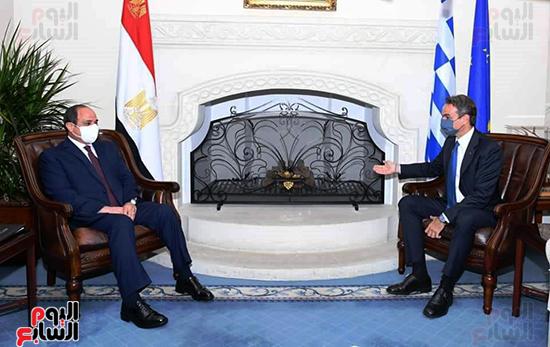 الرئيس السيسى فى قبرص واليونان (6)