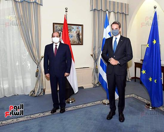 الرئيس السيسى فى قبرص واليونان (7)