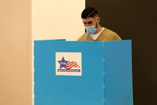التصويت فى الانتخابات 2