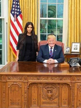 كيم مع ترامب