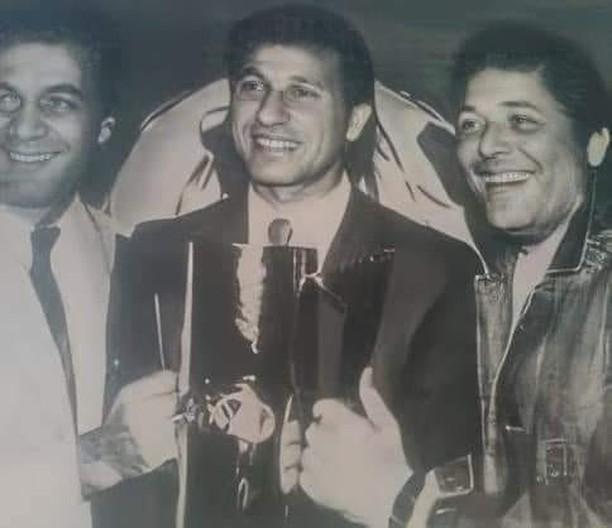 محمود عبد العزيز ومحمود ياسين والخطيب