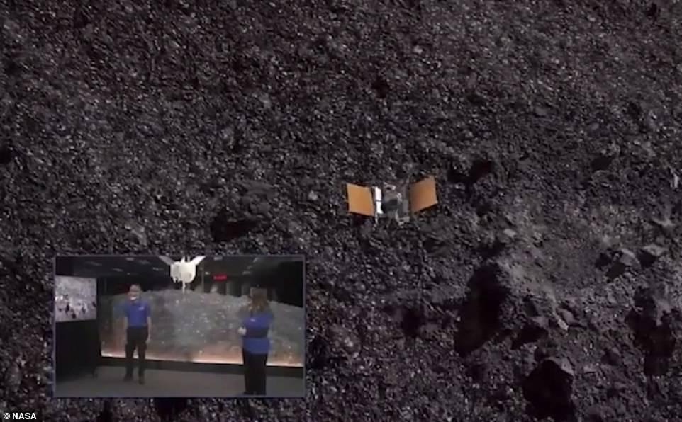 مركبة ناسا على بينو