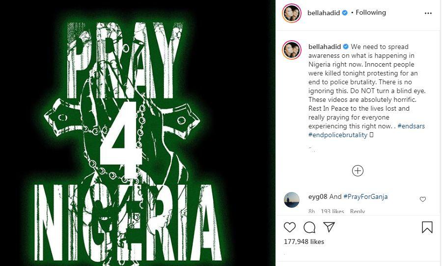 ماذا تضمنت رسالة النجمة العالمية نعومي كامبل للرئيس النيجيري محمد بخاري