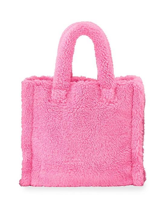 حقيبة يد تيدي فرو صناعي