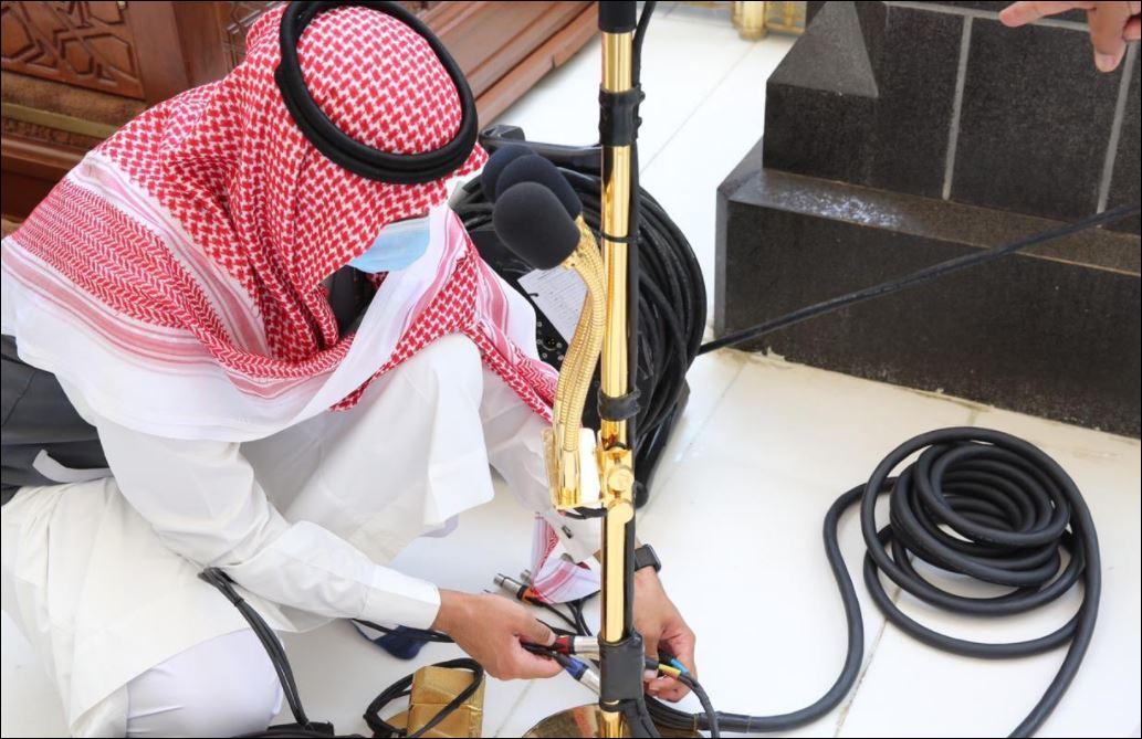 الاستعدادات في المسجد الحرام والنبوى لصلاة الجمعة غدا (5)