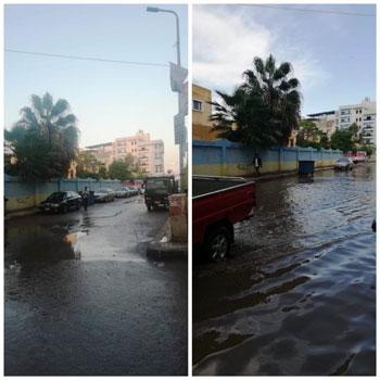 أعمال كسح مياه الأمطار (7)