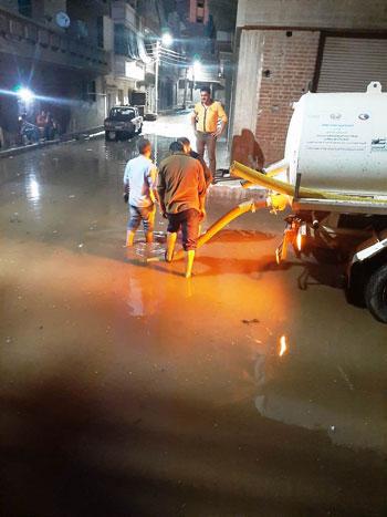 أعمال كسح مياه الأمطار (9)