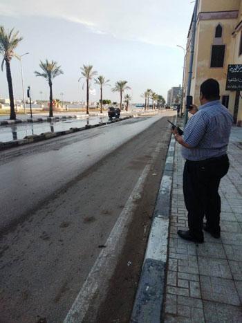 أعمال كسح مياه الأمطار (2)