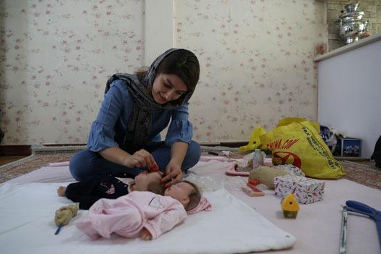 مرحلة صناعة الدمية الإيرانية