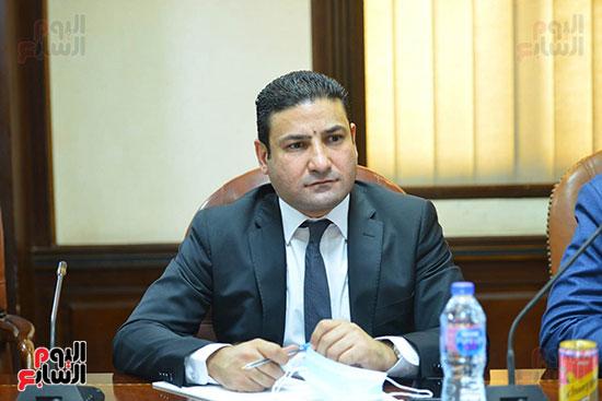 اجتماع وزيره البيئه والمجلس الاعلى للاعلام (6)