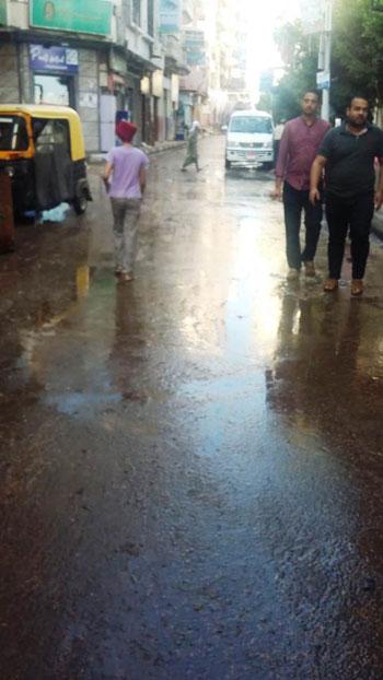 أعمال كسح مياه الأمطار (4)