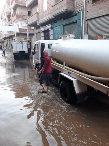 أعمال كسح مياه الأمطار (10)