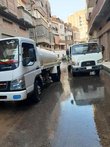 أعمال كسح مياه الأمطار (14)