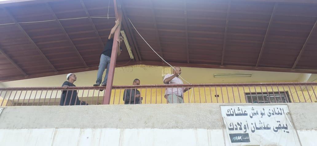 تجهيز أماكن الايواء بمركز ومدينة اوسيم  (4)