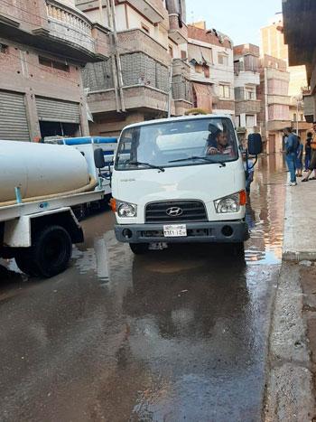 أعمال كسح مياه الأمطار (8)