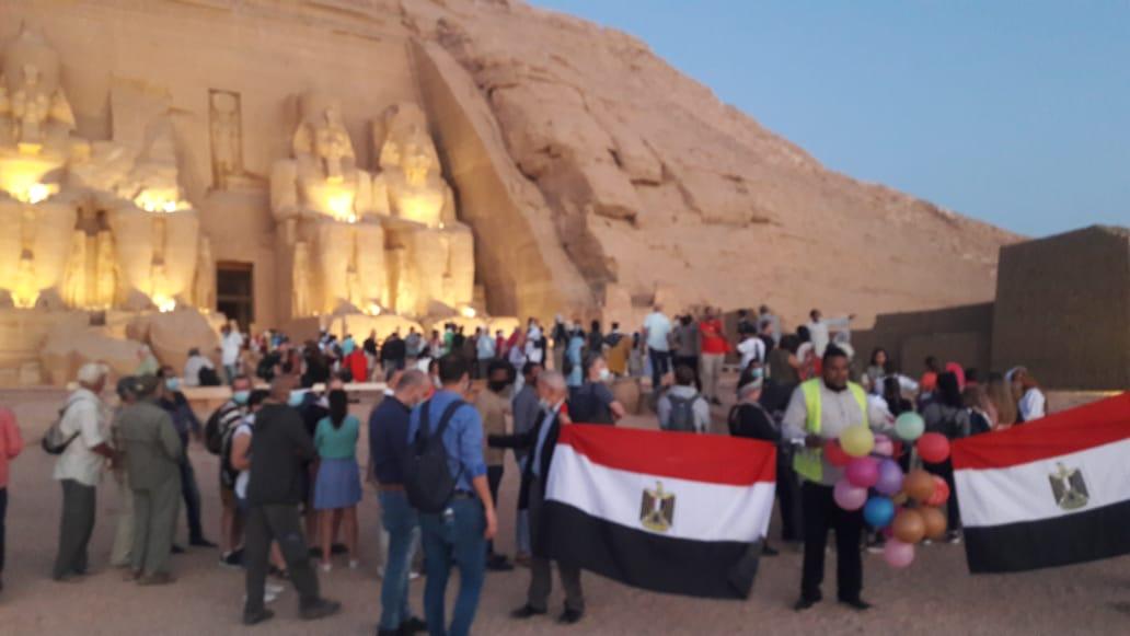 أعلام مصر فى المعبد (2)