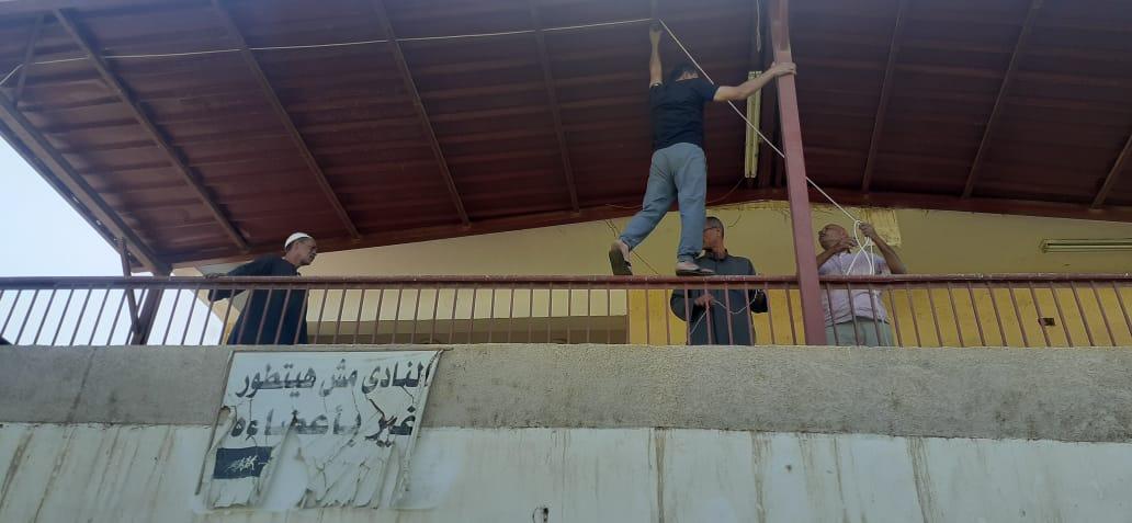 تجهيز أماكن الايواء بمركز ومدينة اوسيم  (2)