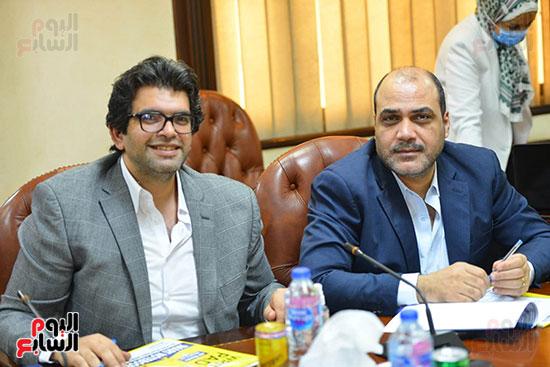 اجتماع وزيره البيئه والمجلس الاعلى للاعلام (7)