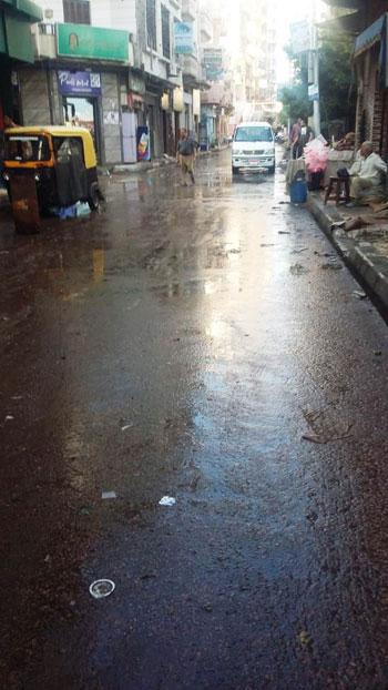 أعمال كسح مياه الأمطار (5)