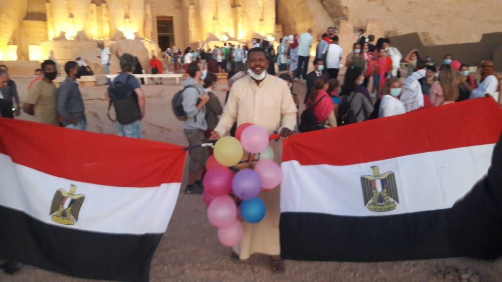 أعلام مصر فى المعبد (3)