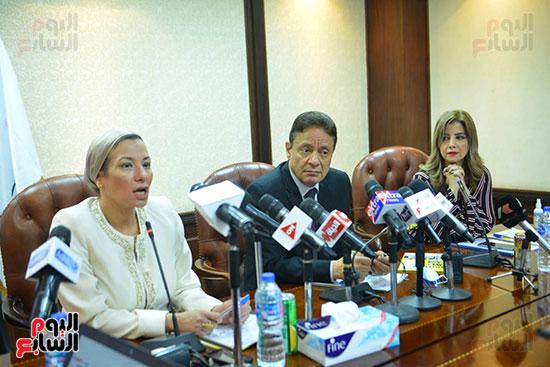 اجتماع وزيره البيئه والمجلس الاعلى للاعلام (8)