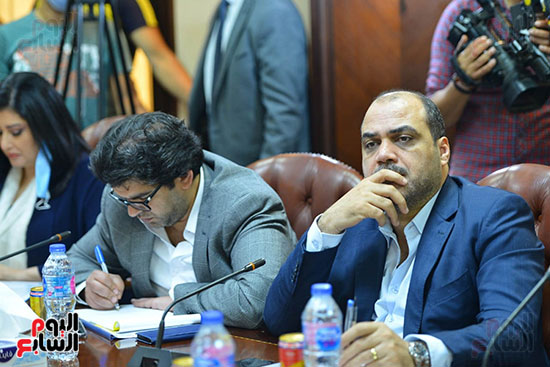 اجتماع وزيره البيئه والمجلس الاعلى للاعلام (3)