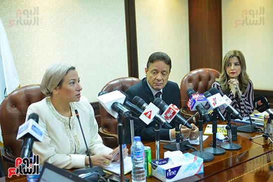 اجتماع وزيره البيئه والمجلس الاعلى للاعلام (9)