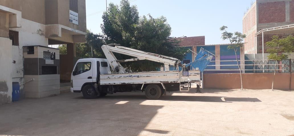 تجهيز أماكن الايواء بمركز ومدينة اوسيم  (1)