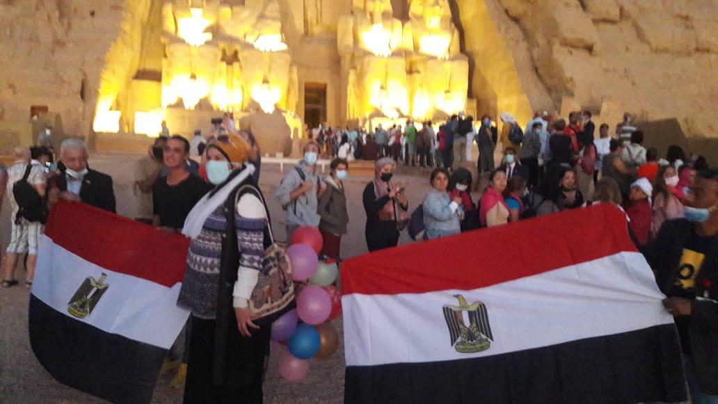 أعلام مصر فى المعبد (4)