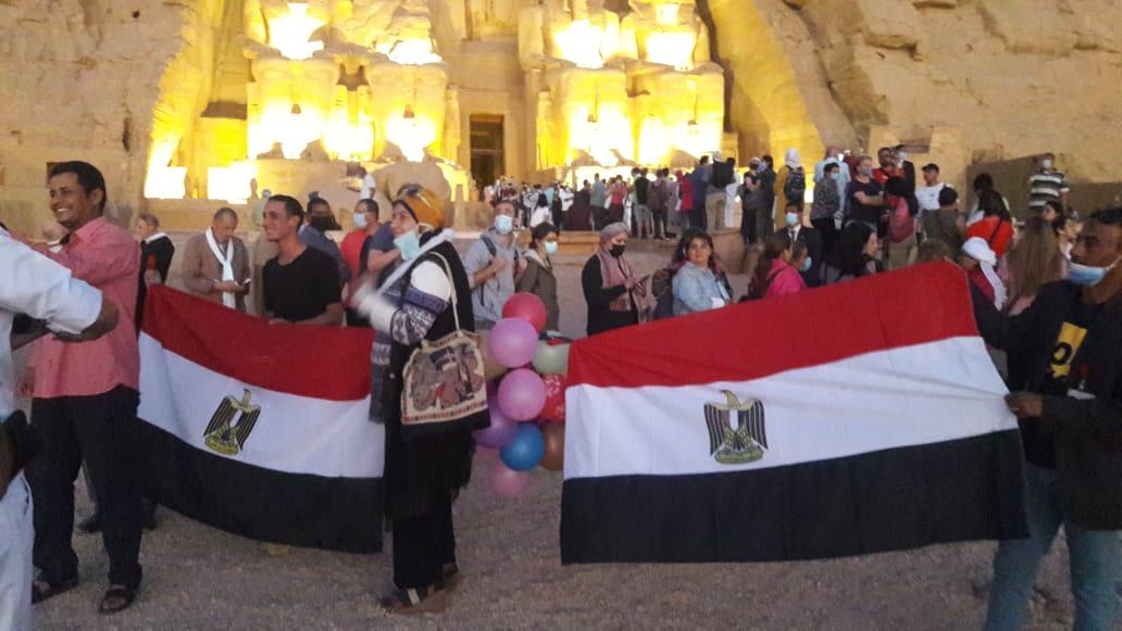 أعلام مصر فى المعبد (5)