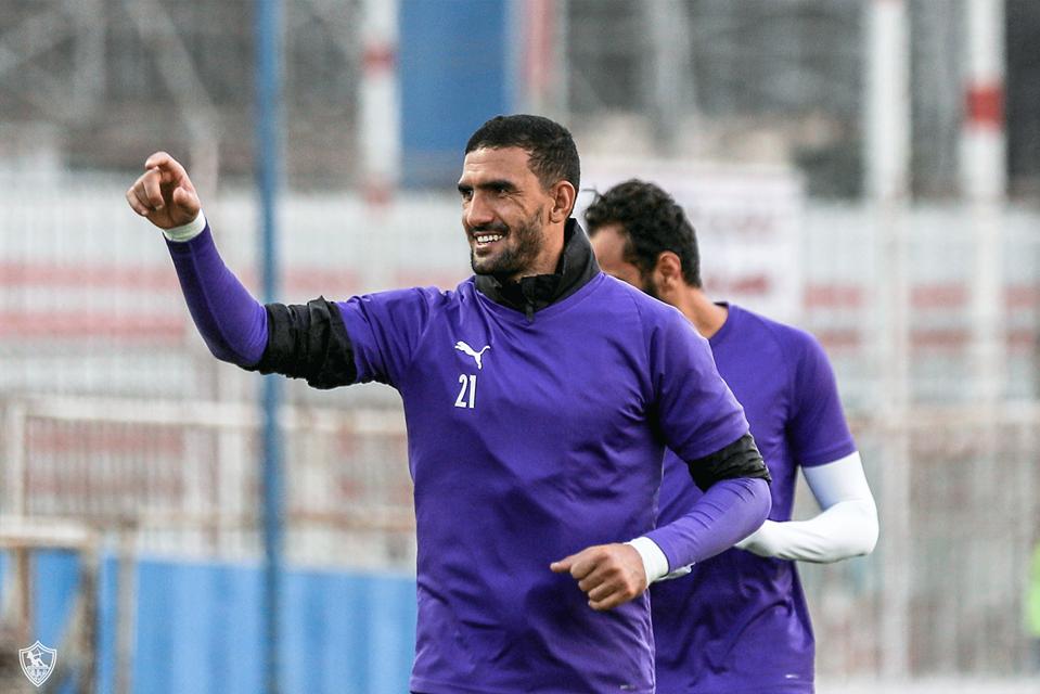 محمد عواد في التدريبات