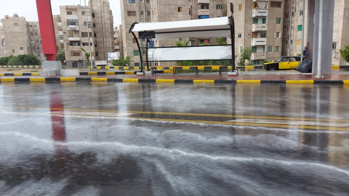 هطول أمطار غزيرة وسط الإسكندرية  (12)