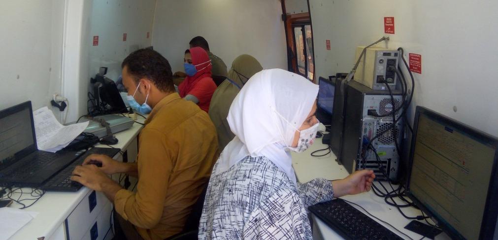 القوافل الطبية فى بنى سويف (11)