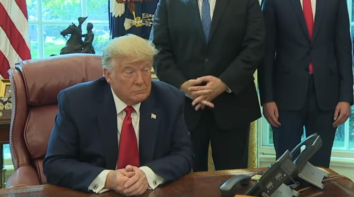 ترامب خلال إعلان تفاصيل اتفاق إسرائيل والسودان