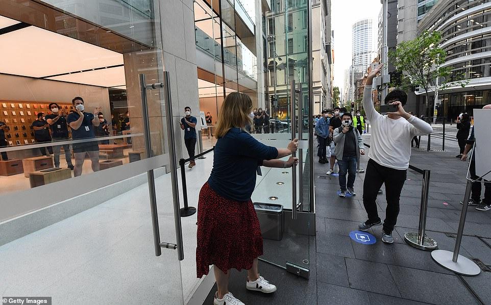 مواعيد Apple في أستراليا
