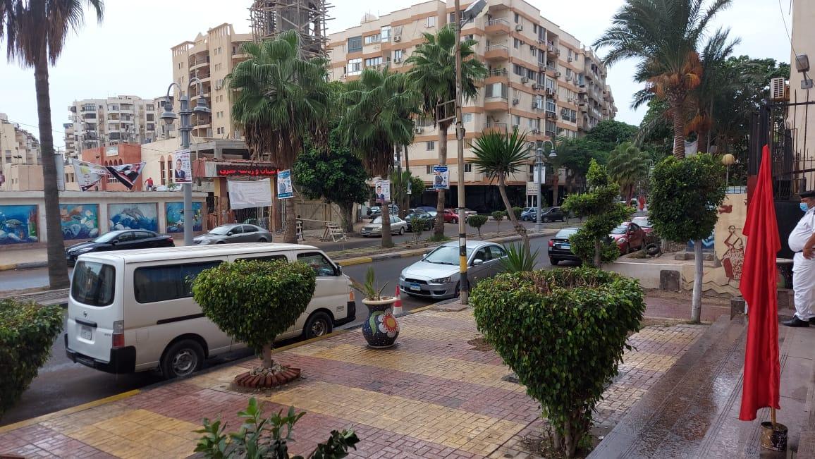 هطول أمطار خفيفة ومتوسطة شرق الاسكندرية  (3)