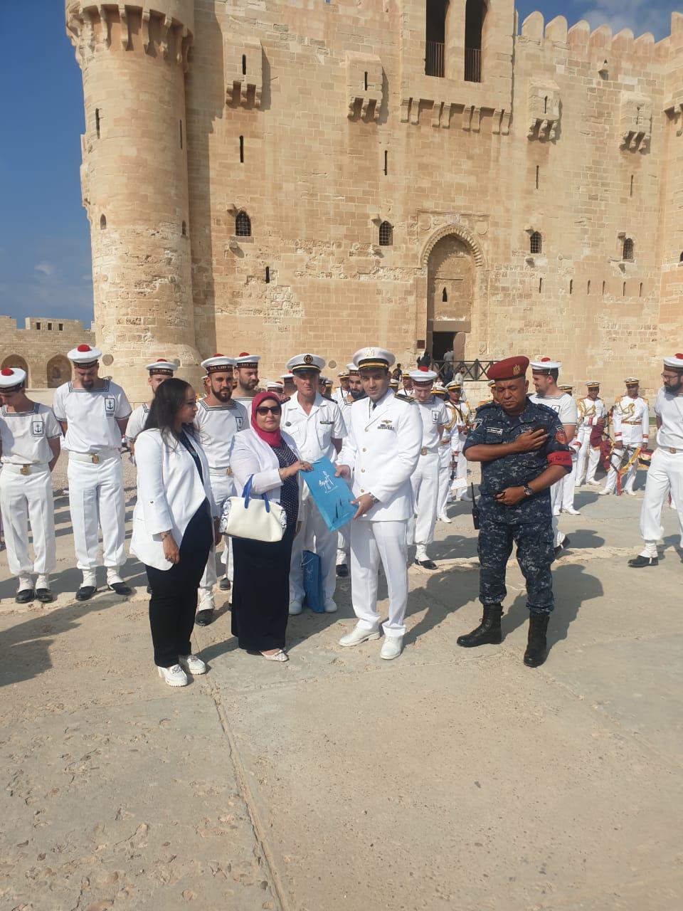 فرقة الموسيقى التراثية للبحرية الفرنسية بقلعة قايتباى (1)