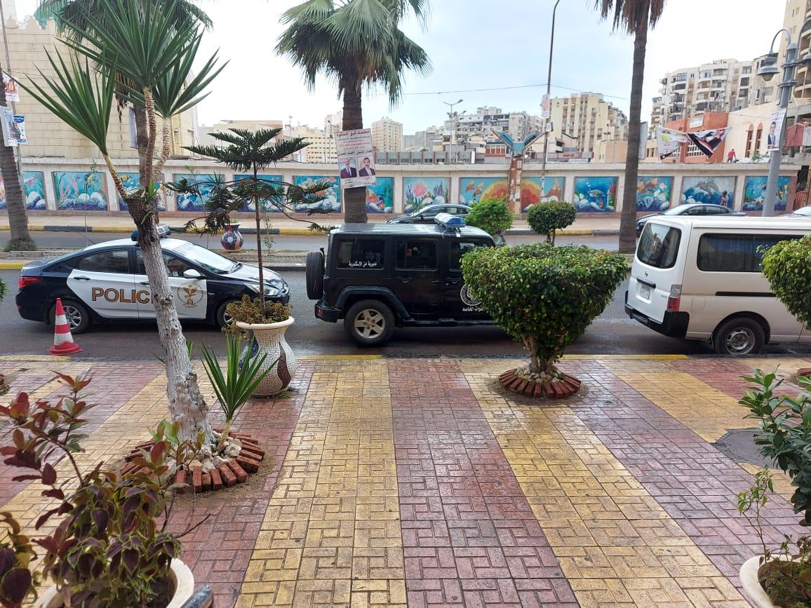 هطول أمطار خفيفة ومتوسطة شرق الاسكندرية  (5)