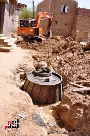 توصيل-الصرف-الصحي-للمنطقة