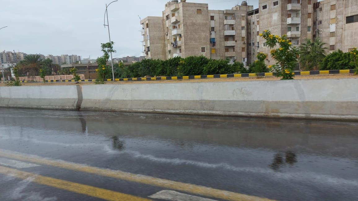 هطول أمطار غزيرة وسط الإسكندرية  (4)