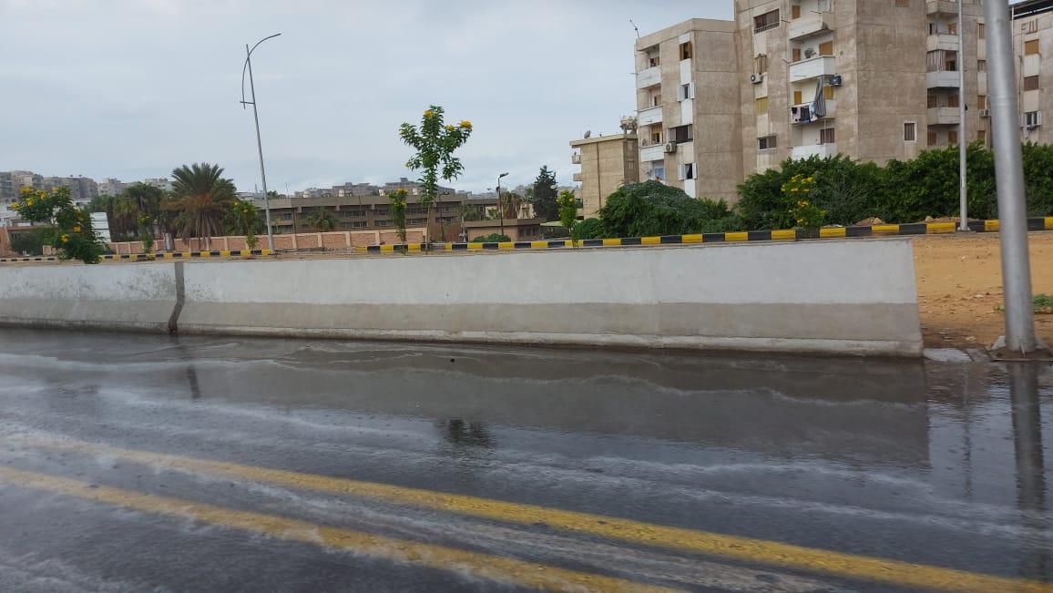 هطول أمطار غزيرة وسط الإسكندرية  (3)