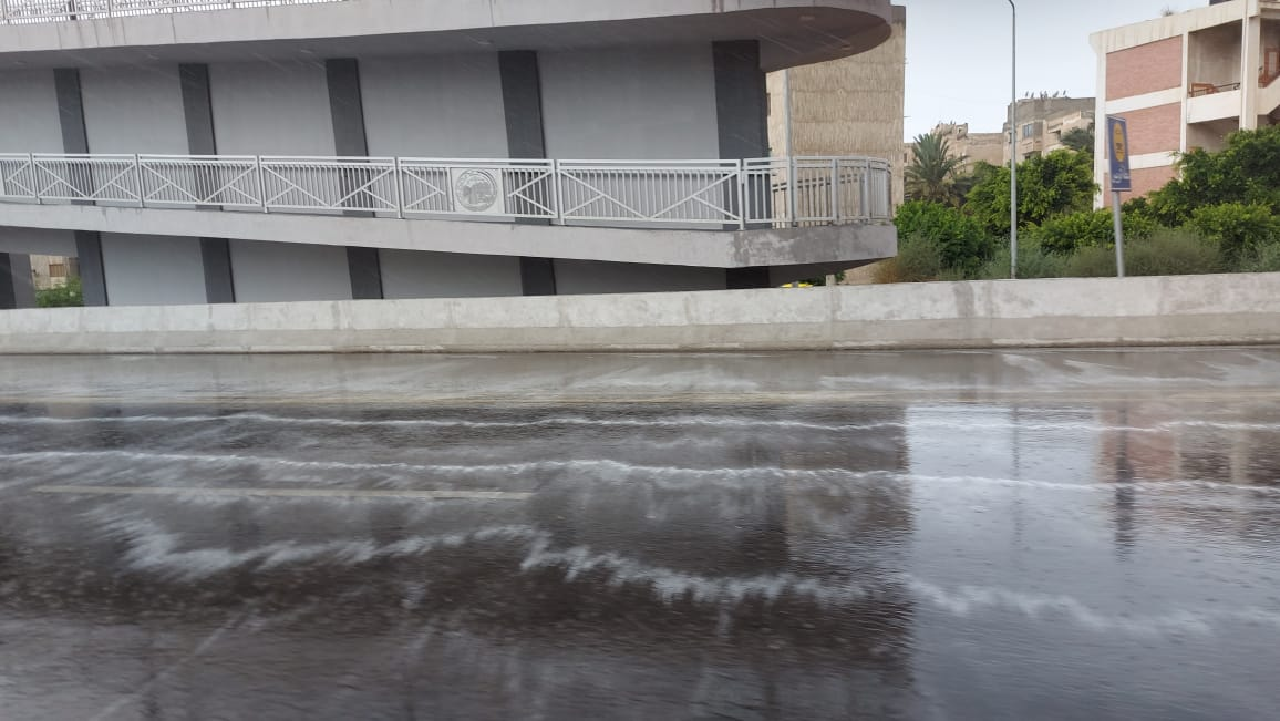 هطول أمطار غزيرة وسط الإسكندرية  (10)