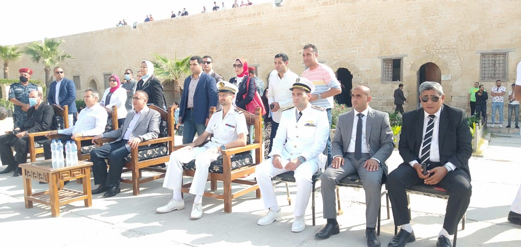 فرقة الموسيقى التراثية للبحرية الفرنسية بقلعة قايتباى (3)