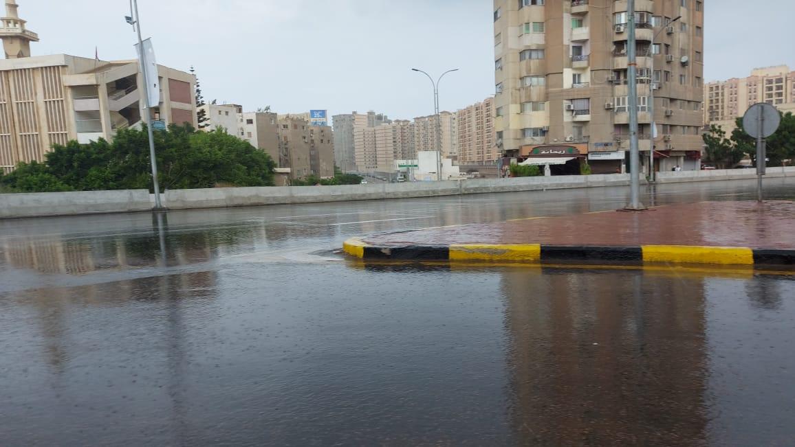 هطول أمطار غزيرة وسط الإسكندرية  (13)