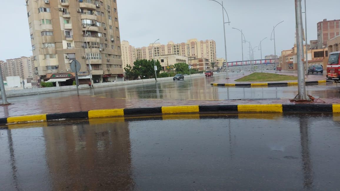 هطول أمطار غزيرة وسط الإسكندرية  (14)