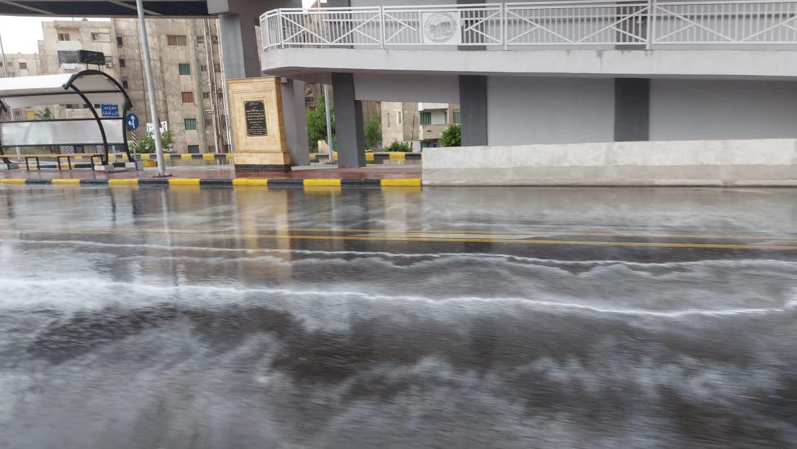 هطول أمطار غزيرة وسط الإسكندرية  (11)
